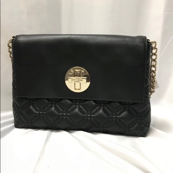 Kate Spade quilted leather purse
